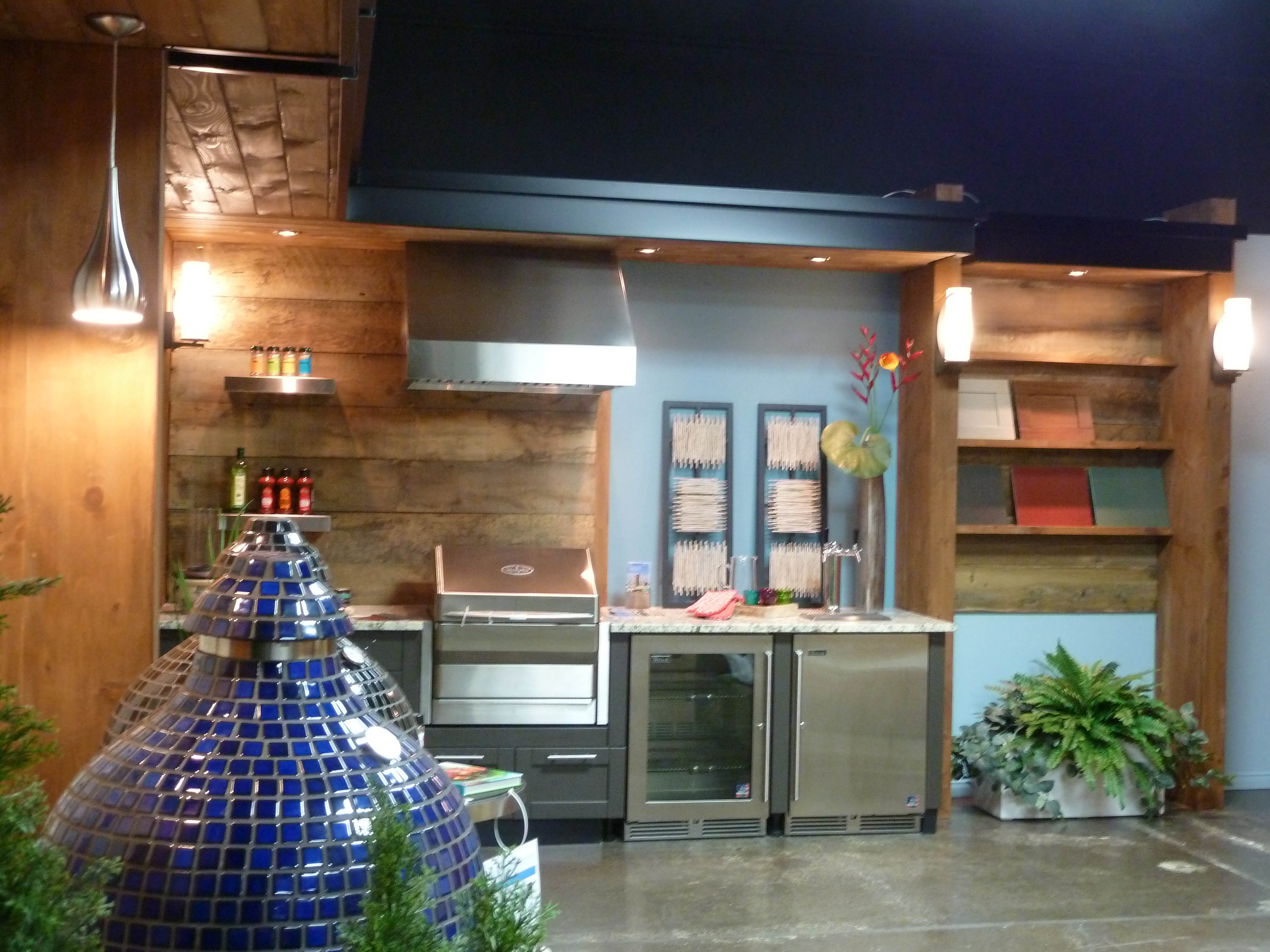 Commercial BBQ Kitchen Showroom