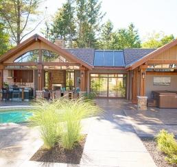 Du Ruiseau Pool House