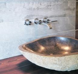Wood & Stone Vanity