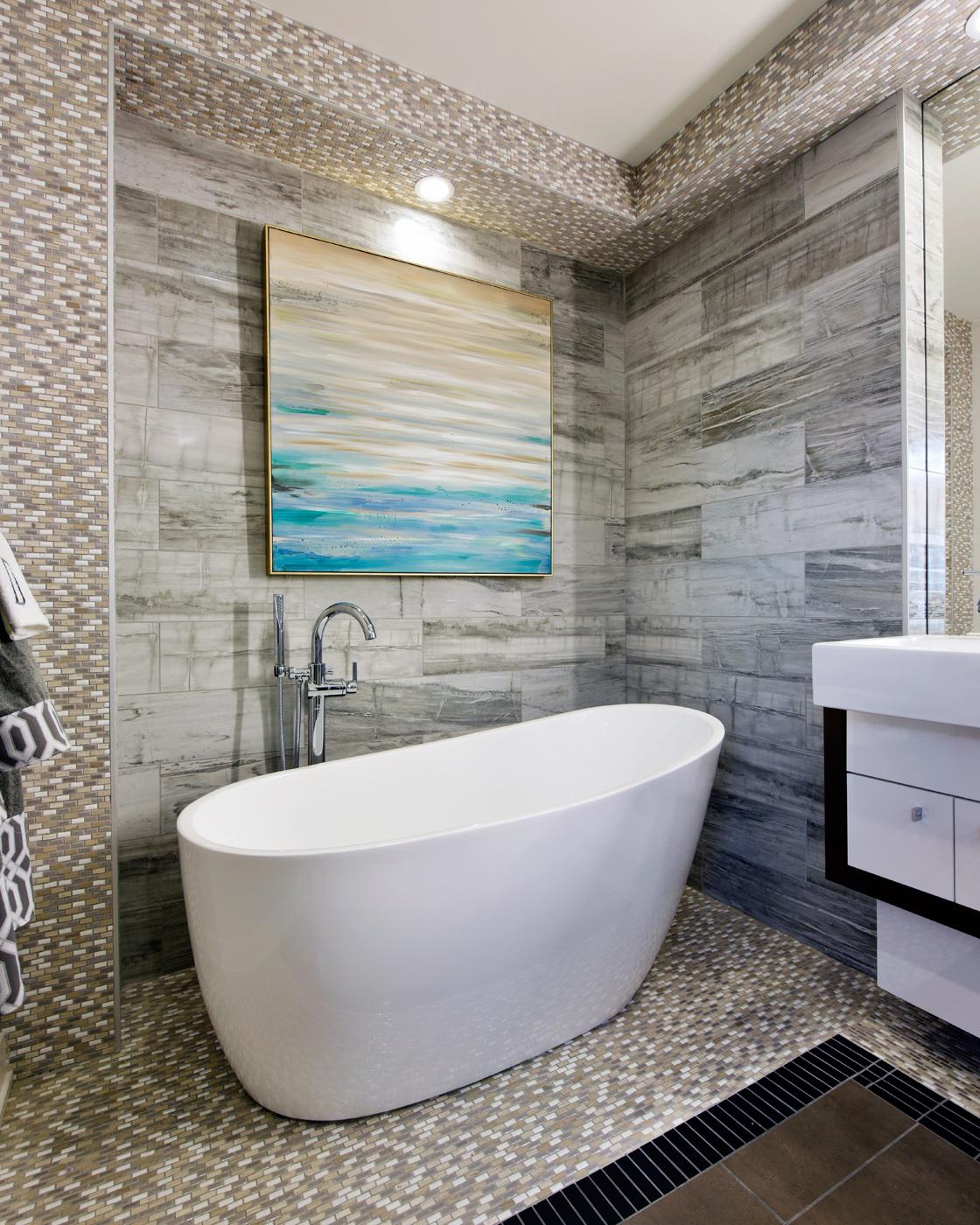 Master Bathroom - Freestanding Bath