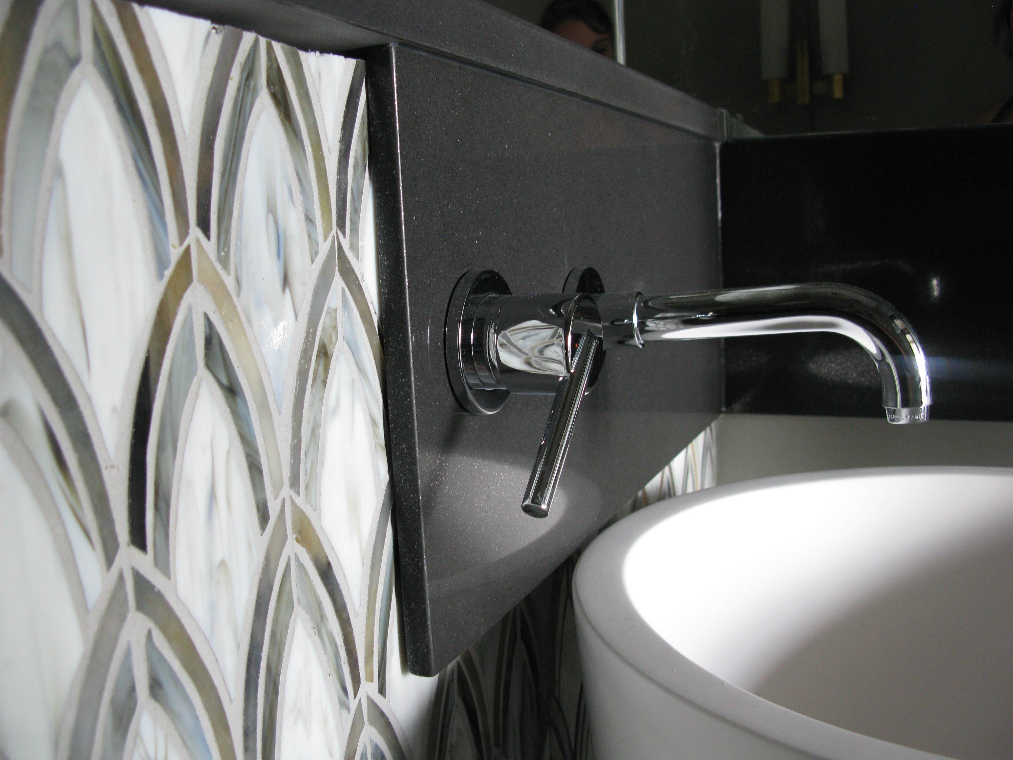 Faucet, Tile Detail