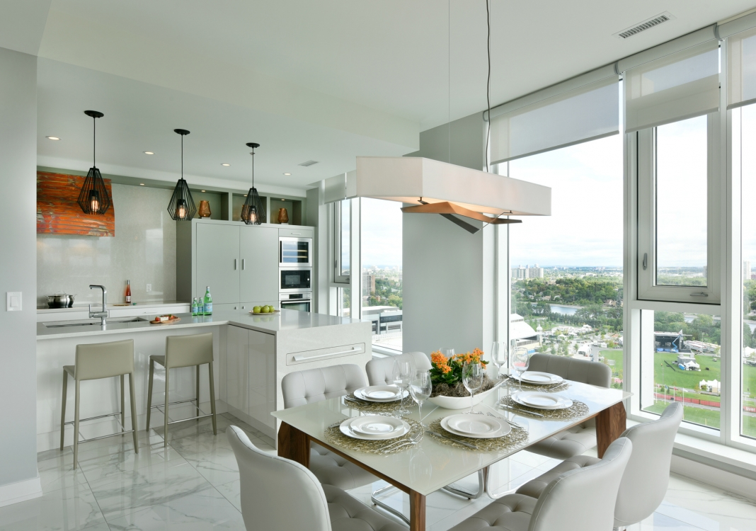 Lansdowne Penthouse Kitchen & Dining Room