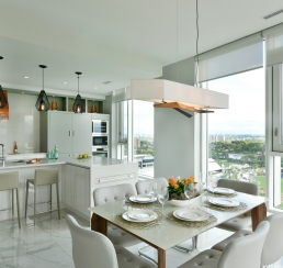 Lansdowne Penthouse Kitchen & Dining Room