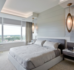 Lansdowne Penthouse Master Bedroom