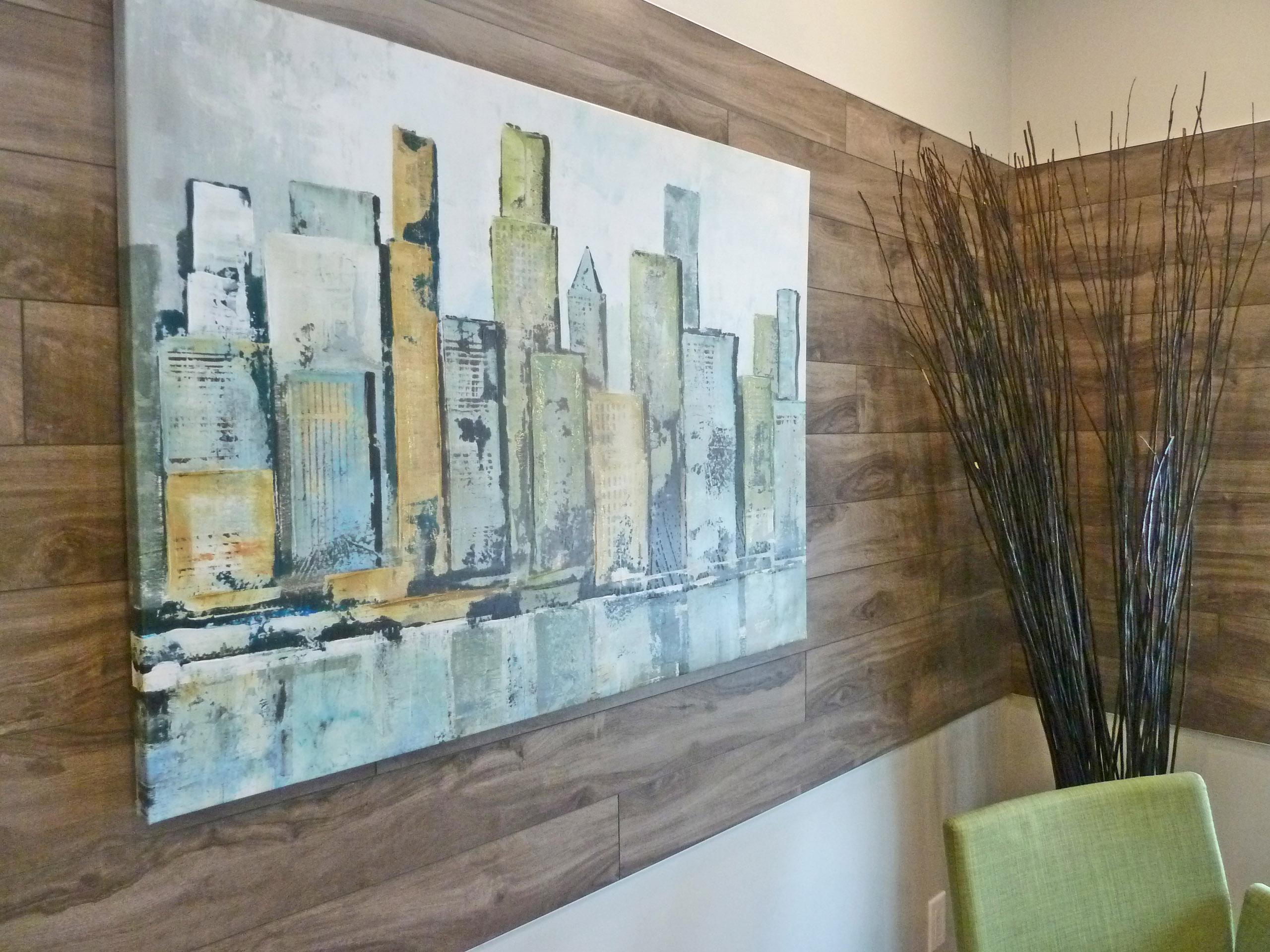Office Back Wall Art Piece