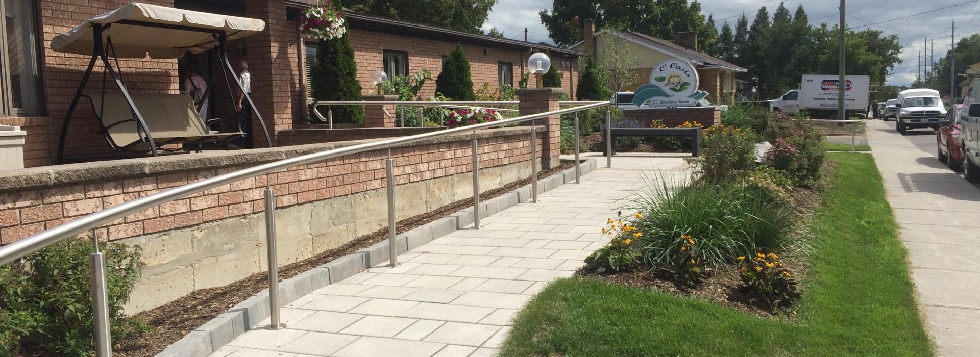 Entrance Walkway / Ramp