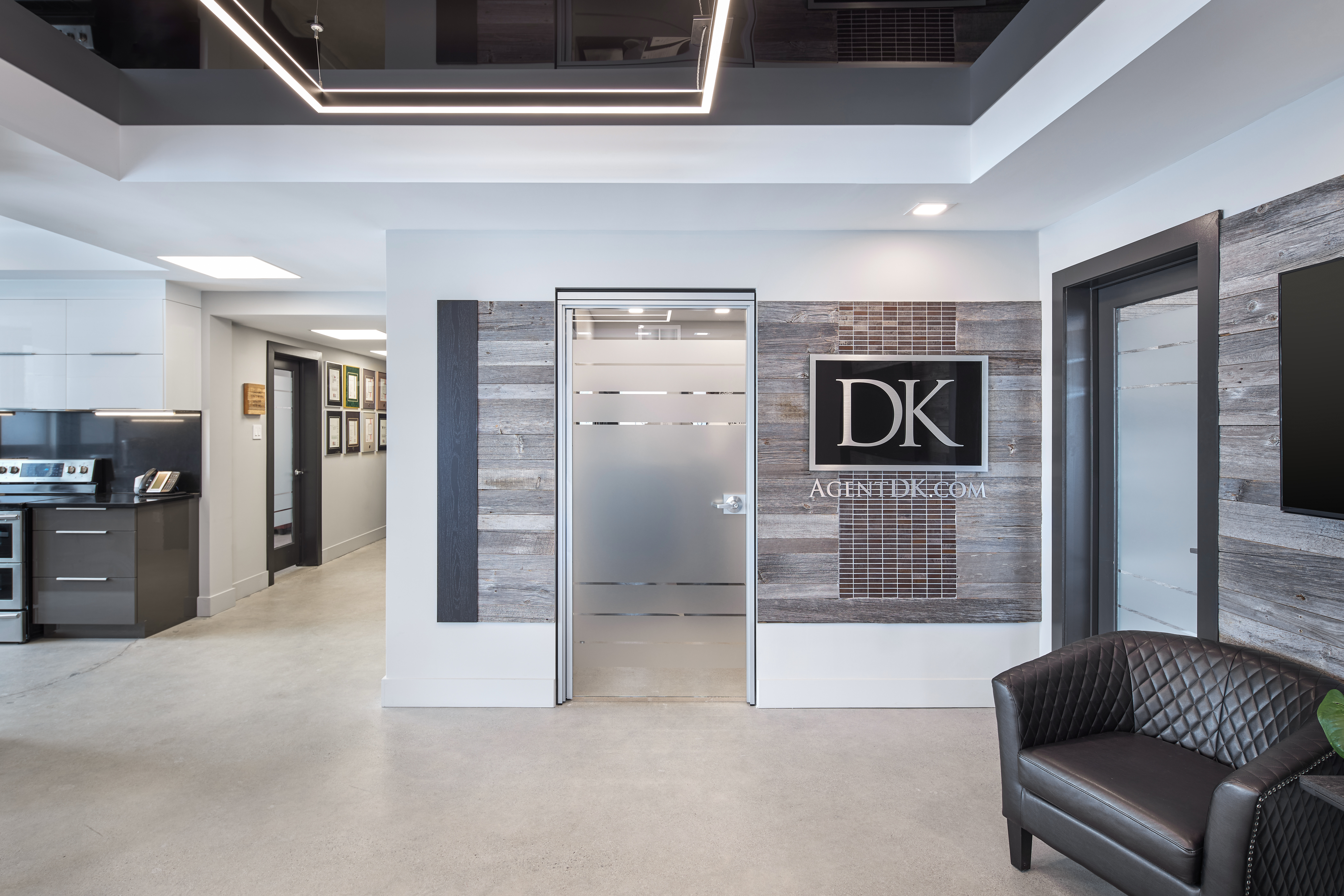 DK office door