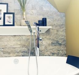 Stone & Faucet detail