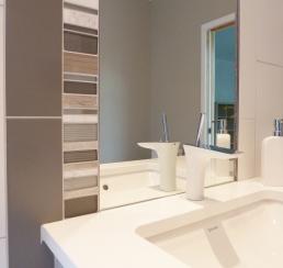 Tile & Mirror work detail
