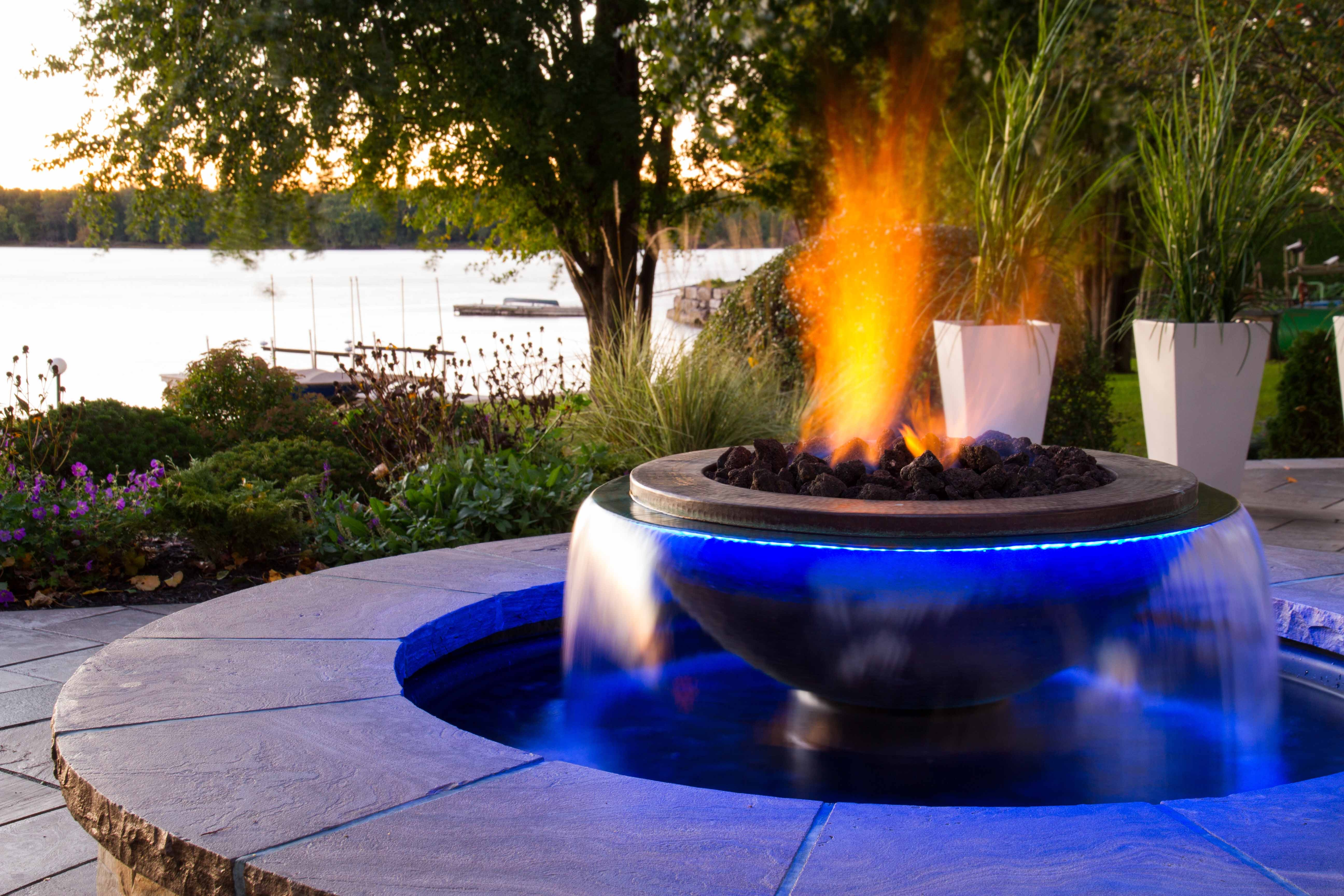 Water / Fire Feature