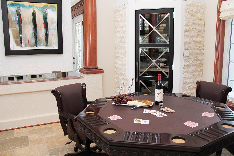 Poker Table/ Wine Cellar