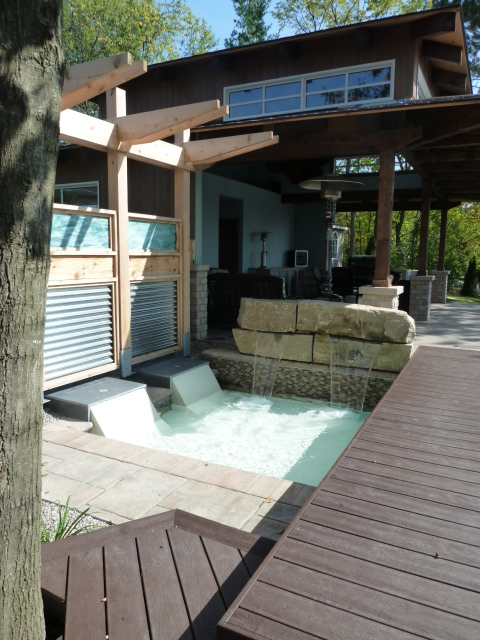 Water Lounging Area