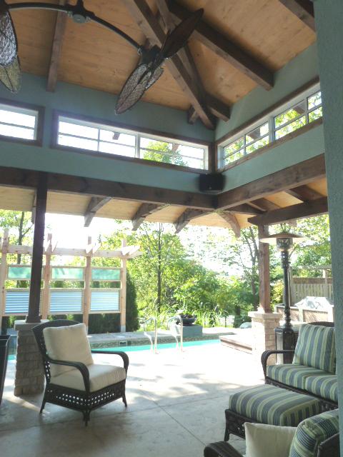 Indoor Pool House Detail