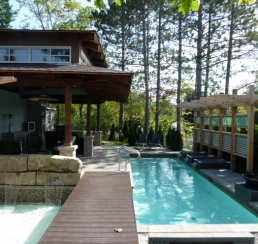 Woods Pool House