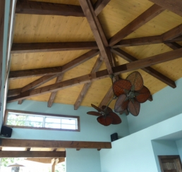 Roof Structure Exposed Beam