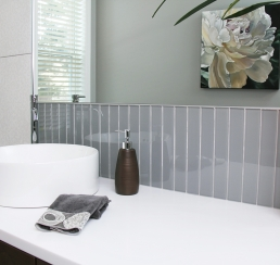 Tile and Vanity Detail