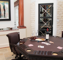 Poker Table/ Wine Cellar